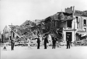 Bombardement du Trianon le 18 avril 1944